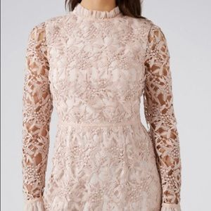 Ever New Melbourne Leanne Two Tone Lace Dress